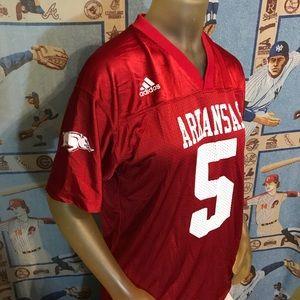 Adidas University Of Arkansas Razorbacks Jersey #5